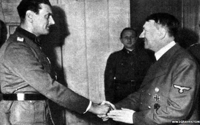 Além de preferido de Hitler, Otto Skorzeny ficou famoso por ter resgatado Mussolini de seu cativeiro no topo de uma montanha