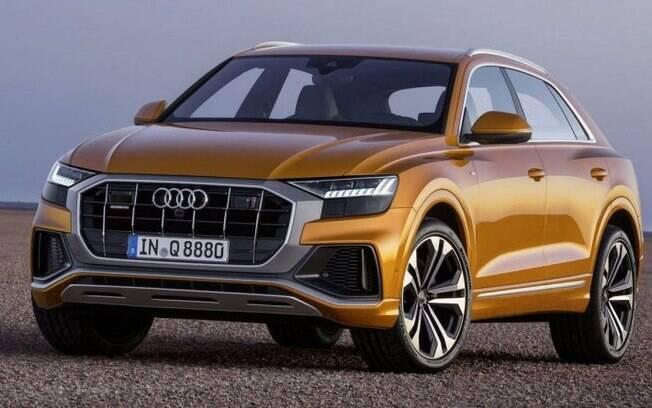 Audi Q8, maior SUV da marca será destaque no Salão do Automóvel, onde o novo Audi Q3 não deverá estar