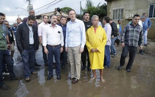O prefeito Marcelo Civella decretou estado de calamidade pública no Rio de Janeiro ontem