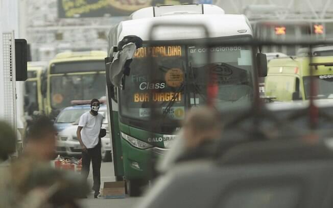Sequestrador do ônibus na ponte Rio-Niterói