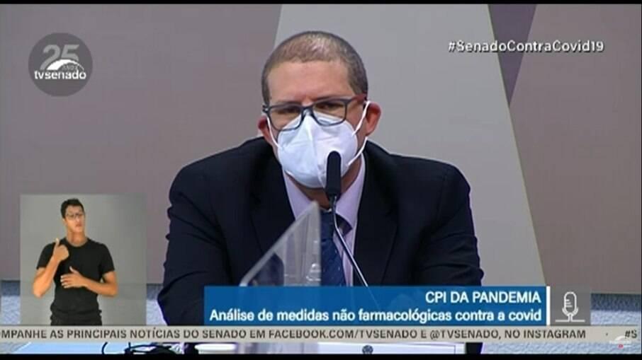 Pedro Hallal é epidemiologista da UFPel e depoente na sessão desta quinta-feira da CPI