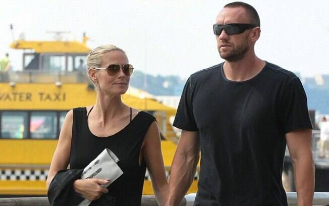 Heidi Klum e seu ex-namorado e ex-guarda-costas, Martin