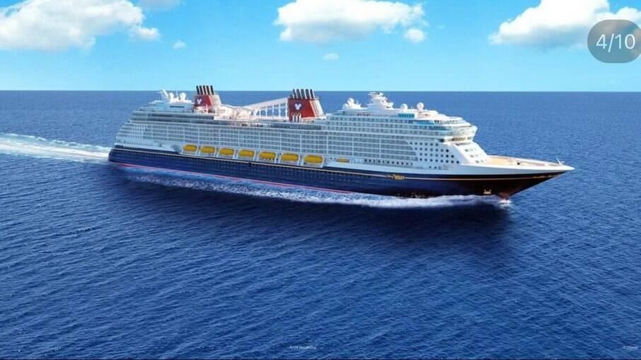 Disney Wish novo navio da Disney