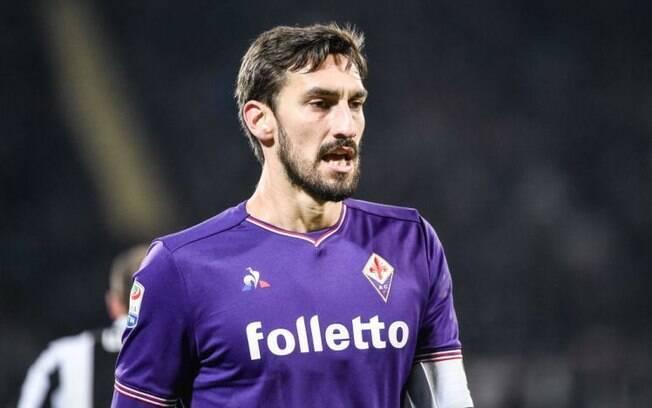 Davide Astori, da Fiorentina, morreu aos 31 anos de idade vítima de problemas no coração