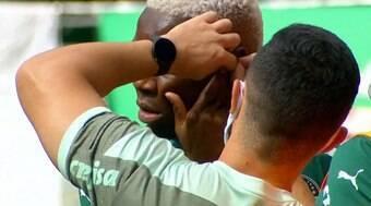 Palmeiras multa Patrick de Paula por usar piercing em partida
