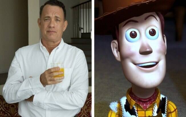 Tom Hanks - Xerife Woody ( Toy Story )