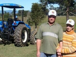 Marcos e sua esposa Elenice conseguiram obter lucro com o programa