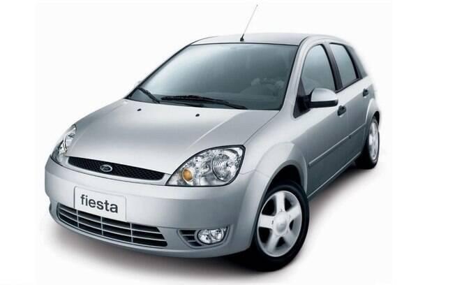 O Ford Fiesta deu um grande salto em design e qualidade em 2002