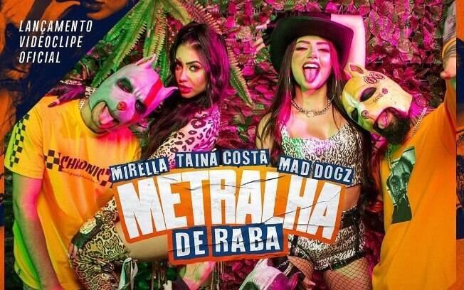 Mesmo confinada, MC Mirella lança nova música