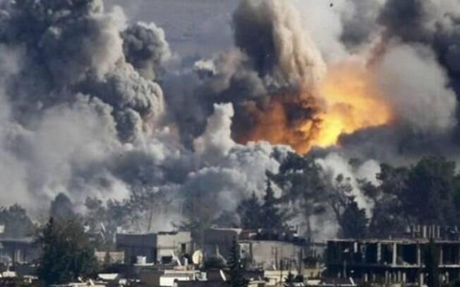 EUA e aliados árabes atingem alvos na Siria, países europeus se recusam a participar de ofensiva