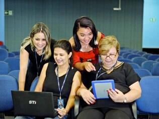 Ambiente de trabalho. Funcionárias de uma universidade em Belo Horizonte contam como tentam lidar com as diferenças no dia a dia