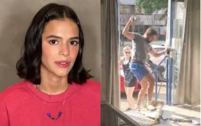 Bruna Marquezine fala de homem que se irritou em sorveteria por estar sem máscara