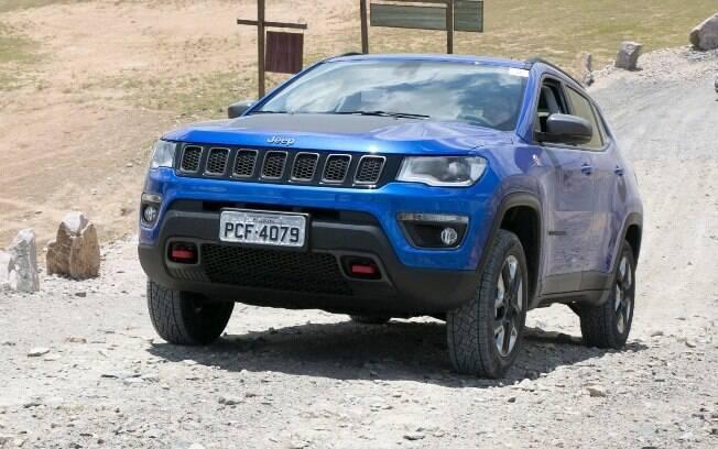 O Jeep Compass Trailkawk foi fabricado para conseguir enfrentar trechos fora de estrada de qualquer tipo