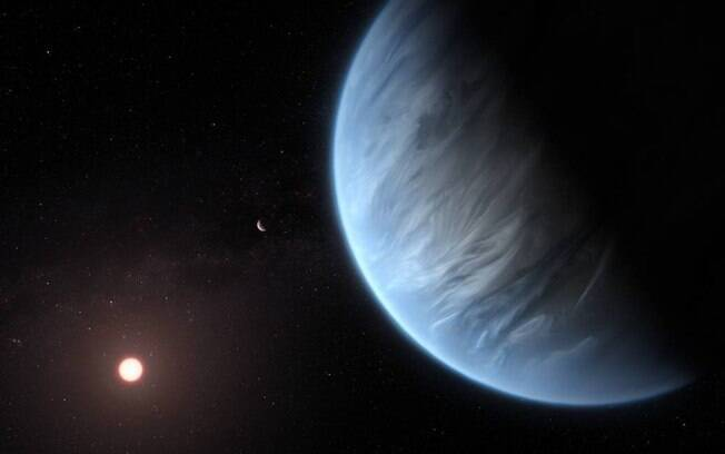 Atualmente, o K2-18b é o único exoplaneta super-terrestre conhecido por hospedar água e temperaturas que podem sustentar a vida