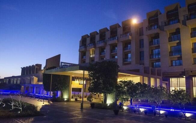 Hotel Continental Pearl foi atacado neste sábado no Paquistão