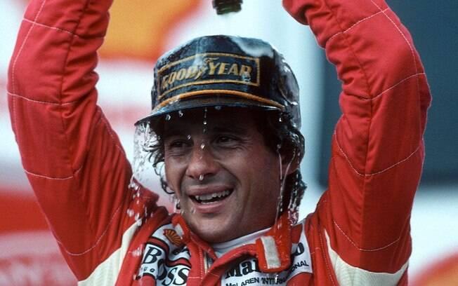 Ayrton Senna estava nos planos de Ron Dennis para promover o carro mais rápido da história