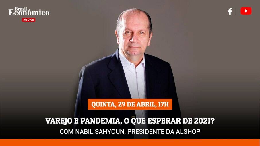 Presidente da Alshop é o entrevistado da live do Brasil Econômico desta quinta-feira (29)