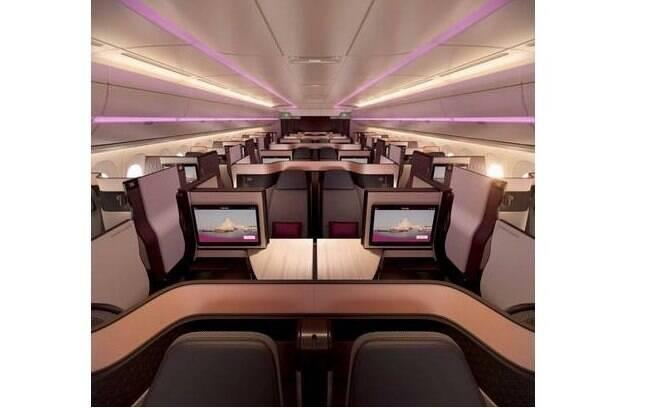 Avião que levará o Flamengo para o Mundial