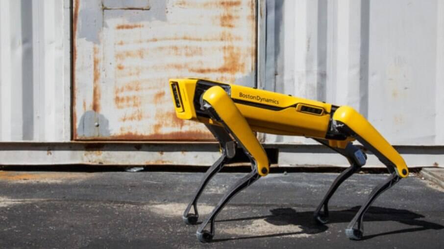 Robô Spot, da Boston Dynamics