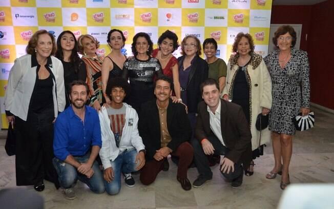 Marieta Severo, Nathalia Timberg e Marcos Palmeira lançam filme no Rio