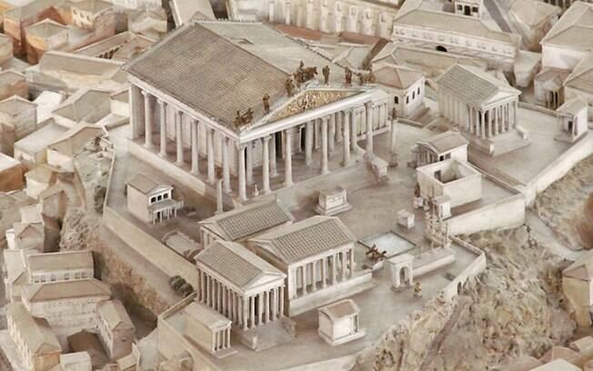 Arqueólogo italiano Italo Gismondi conseguiu colocar de pé, com muita precisão, a paisagem antiga da Roma no século 4 d.C.
