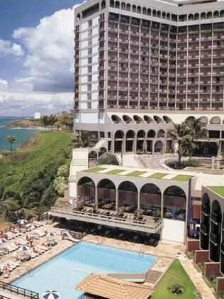 Bahia Othon Palace tem vista para a praia da Ondina