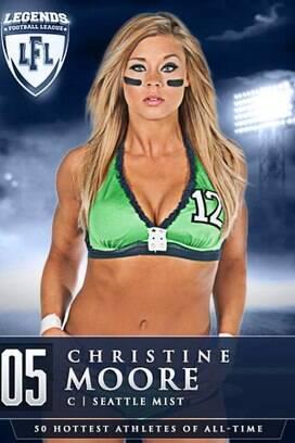 Futebol americano de lingerie elege as 50 musas de todos os tempos ... 90ce6a66fc1b1