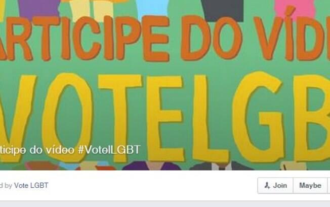 Campanha Vote LGBT convoca participação de comunidade, amigos e parentes em video