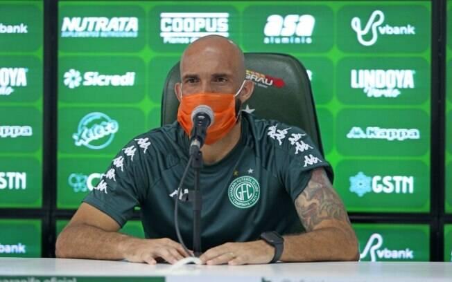 Éder Sciola pede Guarani focado em evolução no Paulista