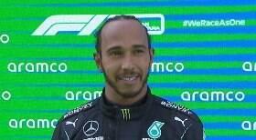 Hamilton supera Verstappen e vence GP da Espanha