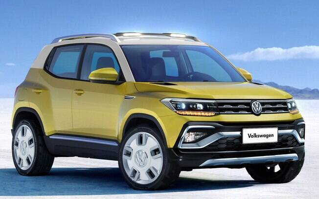 Novo SUV da VW terá a mesma base do Polo e chegará ao mercado  depois do VW Tarek  a ser feito na Argentina