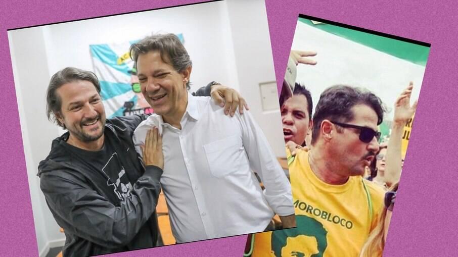 Marcelo Serrado se arrependeu de apoiar Sergio Moro