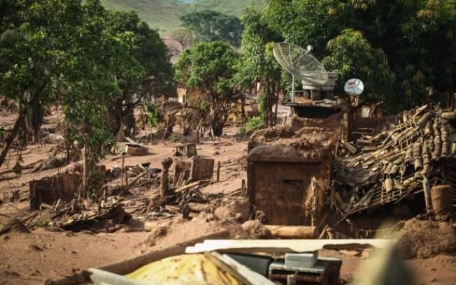 Bento Rodrigues foi um dos locais gravemente atingidos pelo acidente da Samarco