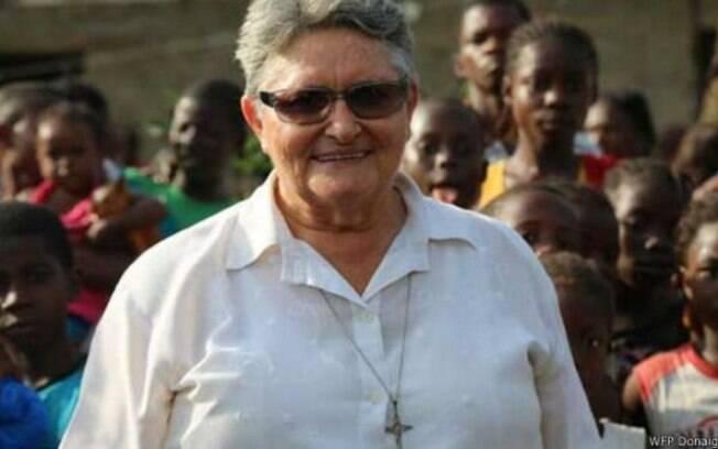Irmã Maria vivenciou duas guerras na Libéria, mas garante que o ebola 'é pior'