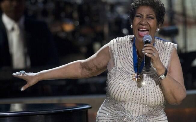 Aretha Franklin receberá homenagem póstuma no Grammy 2019