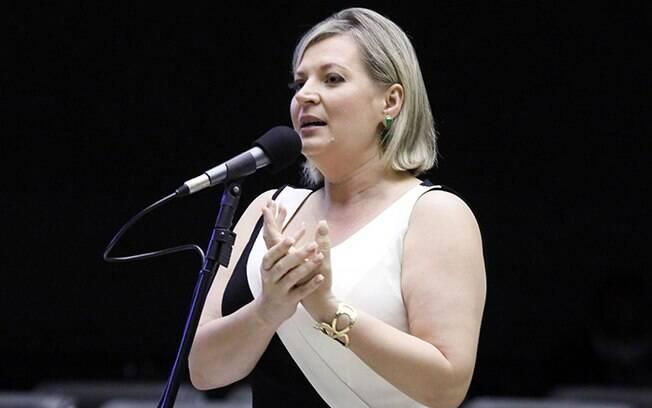 Joice Hasselmann é candidata à Prefeitura de São Paulo pelo PT
