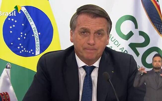 Em fala ao G-20, Bolsonaro negou racismo no Brasil, disse que todos são iguais e que não enxerga cor de pele