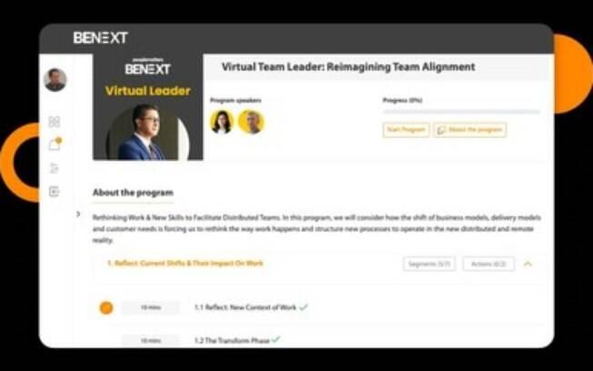 BeNext, uma plataforma de ensino digital com base em coortes para a comunidade de RH, agora oferece cursos de inglês e espanhol