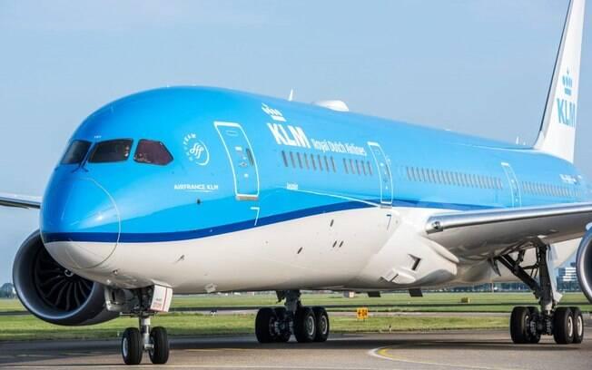 KLM suspenderá temporariamente seus voos intercontinentais