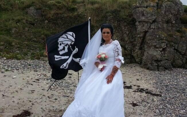 Amanda e Jack se casaram no começo do ano; a relação com o fantasma chegou ao fim, segundo publicação da irlandesa