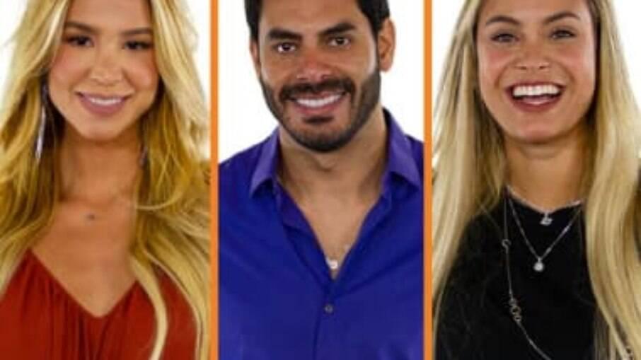 BBB 21: Kerline, Rodolffo e Sarah