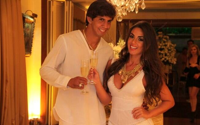 Nicole Bahls e o namorado, Victor Ramos