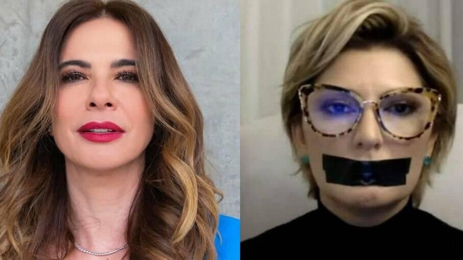 Luciana Gimenez conseguiu imposição de multa de R$ 20 mil contra Antônia Fontenelle