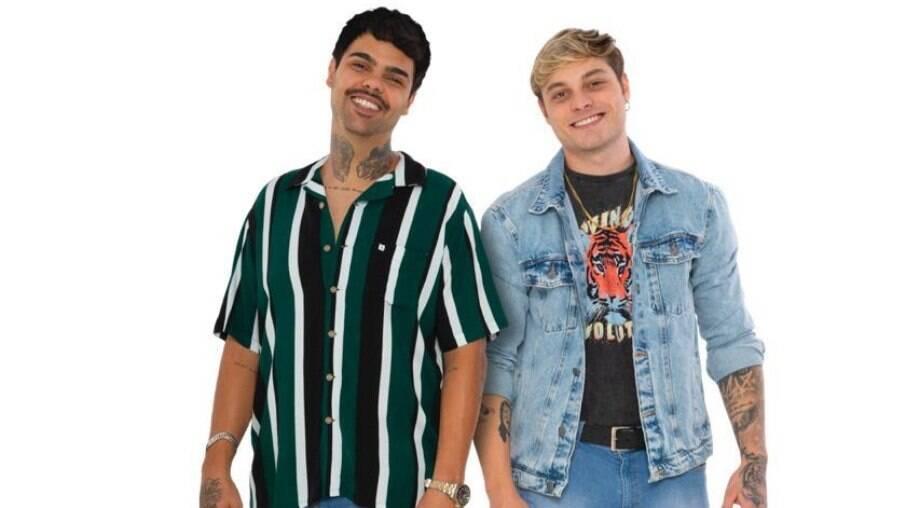 Lucca e Mateus assinam contrato com a Sony Music