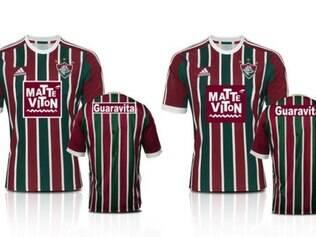 Fluminense divulgou no twitter como devem ficar as novas camisas