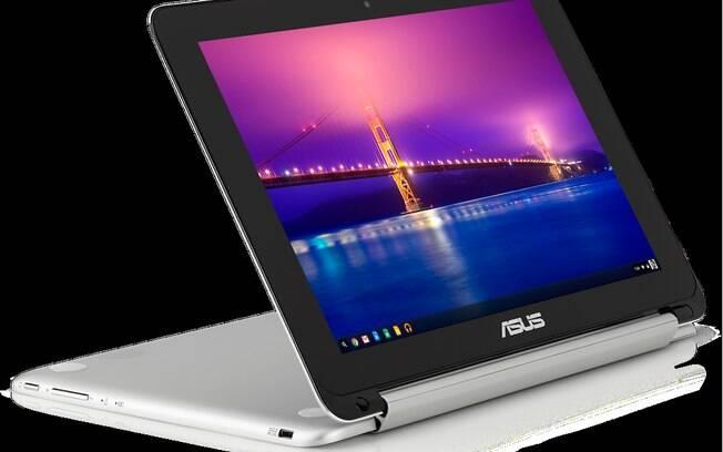 Em parceria com a Asus, o Google anunciou seu primeiro conversível, o Chromebook Flip com tela sensível ao toque