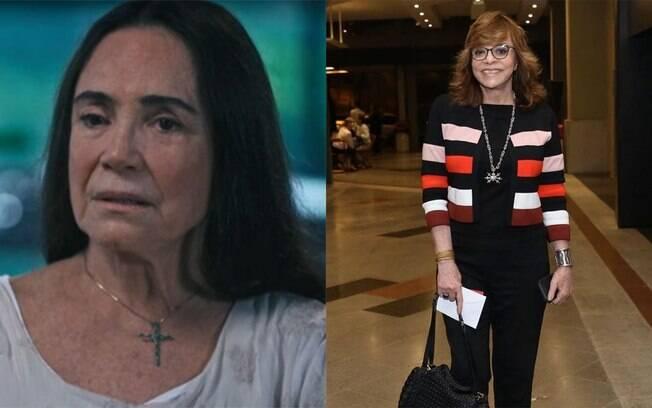 Regina Duarte pede ajuda para voltar para a Globo