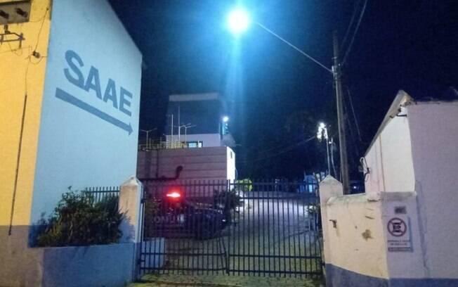 Explosão em tanque de cloro deixa um morto na ETA de Pedreira