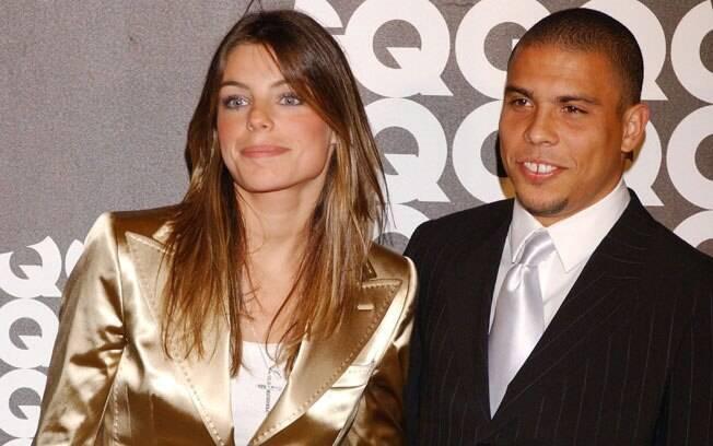 Ronaldo e Daniella Cicarelli: o casamento durou poucos meses e a modelo até passou por um aborto