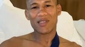 Após fratura, Ronaldo Jacaré passa por cirurgia